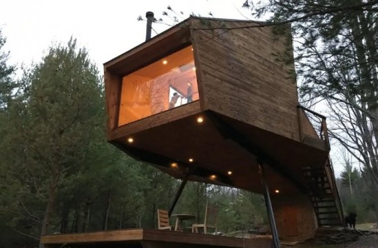Willow Treehouse (airbnb.com)